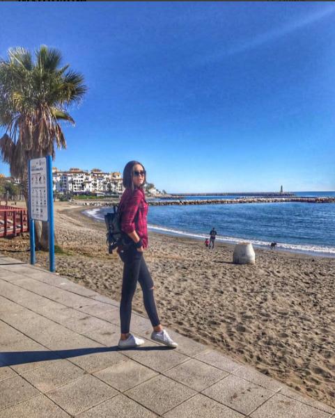 Ольга Бузова в Марбелье, в Испании фото 2017