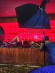 Элина Камирен фото в процессе съёмок в Дубае, январь 2017