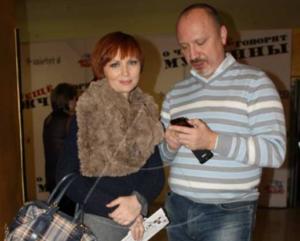 На фото Елена Ксенофонтова с бывшим мужем Александром