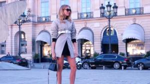 """Неделя моды в Париже: фото перед началом мероприятий, так называемый """"уличный стиль"""""""