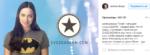 Пост Самбурской в Инстаграме о запуске приложения подназванием Звездограм