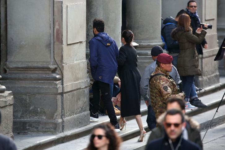 Фото Селены Гомес и Уикнда во время поездки в Италию 2017