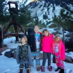 Дети Тори Спеллинг в Портленде,штат Орегон 2017 год