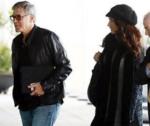Джордж Клуни и беременная Амаль Аламуддин-Клуни, фото 2017 из Инстаграма