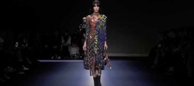 Показы коллекций Versace, Bottega Veneta на Миланской неделе моды 2017