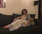 Пост Ольги Бузовой в Инстаграме после выписки и фото с собаками
