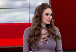 Алена Водонаева на Ру-ТВ 2017 год