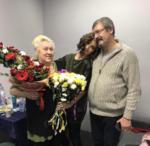 На фото Ольга Бузова с отцом Игорем Бузовым