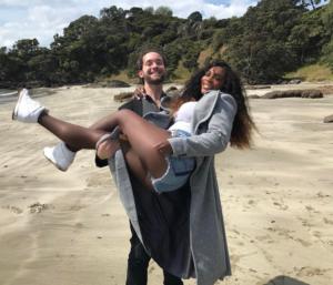 Серена Уильямс и Алексис Оханян фото апрель 2017 из Инстаграма