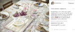 Тори Спеллинг с семьёй празднует Пасху: фото праздничного стола из Инстаграма