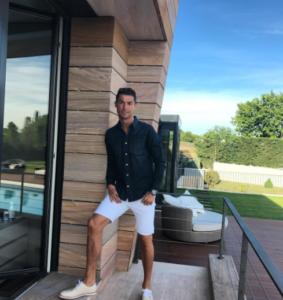 Криштиану Роналду 2017: фото из Инстаграма