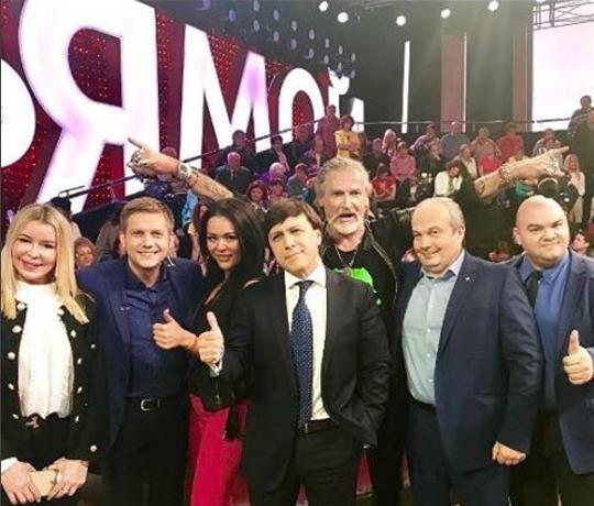 Новый скандал Никиты Джигурды в студии «Прямого эфира»