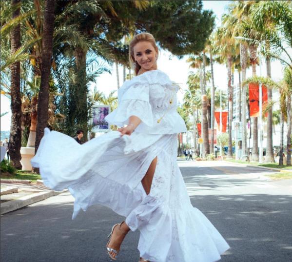 Татьяна Навка в Каннах 2017, фото