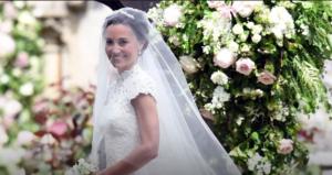 Пиппа Миддлтон фото в свадебном платье