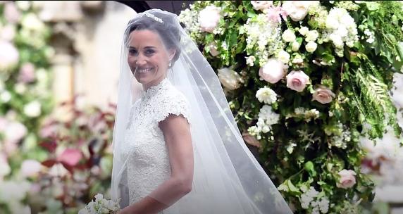 Свадьба Пиппы Миддлтон, сестры герцогини Кейт: фото, видео