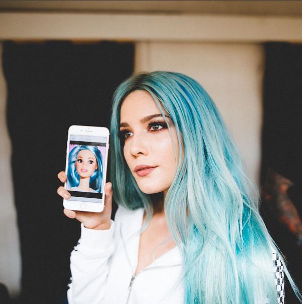 Певица Холзи (настоящее имя Эшли Николетт Франджипани) фото 2017 из Инстаграма