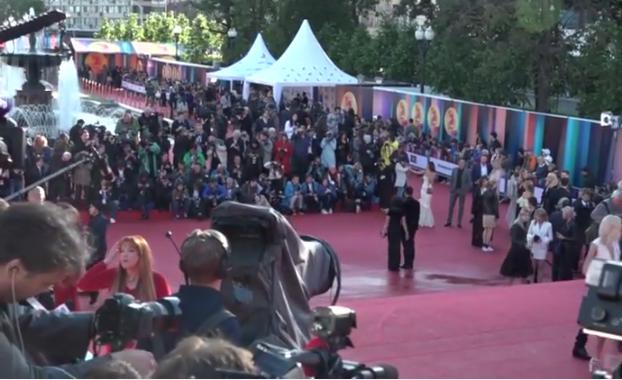 Открытие Московского международного кинофестиваля 2017, видео