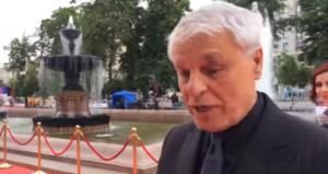 Актер Микеле Плачидо в Москве на ММКФ 2017