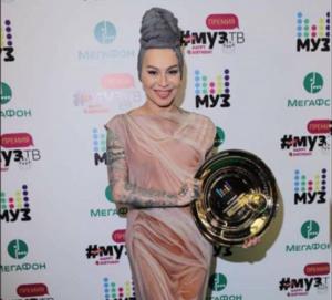Наргиз Закирова на премии Муз-ТВ 2017, фото из Инстаграма