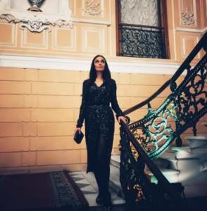 Алена Водонаева в Петербурге фото июнь 2017 из Инстаграма