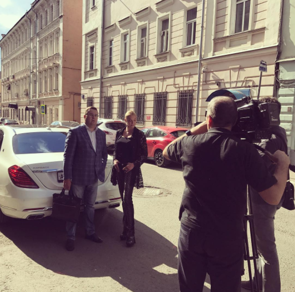 Анастасия Волочкова: видео передачи «Новые русские сенсации» на НТВ о бывшем водителе