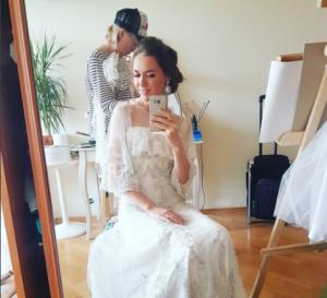 Мария Круглыхина фото июль 2017 в свадебном платье