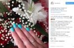 Пост Нади Ермаковой в Инстаграме с намеком на скорую свадьбу, июль 2017