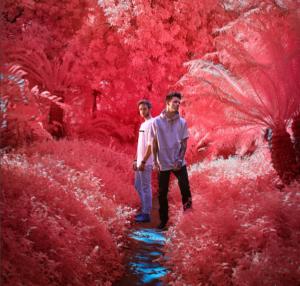 Лиам Пейн и Zedd фото 2017 из Инстаграма Пейна с инфракрасным фильтром