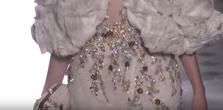 Показ Tony Ward на Неделе высокой моды в Париже в июле 2017, видео