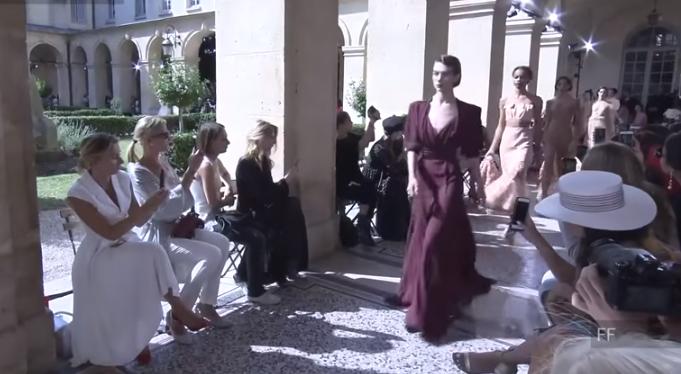 Коллекция Ульяны Сергиенко на Парижской неделе моды в июле 2017