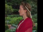 Фото модели с прической древнеримской императрицы Сабины, воссозданной парикмахером Джанет Стивенс