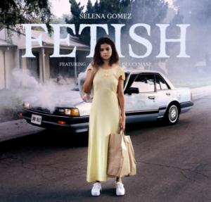 Селена Гомес обложка для песни Fetish, фото из Инстаграма