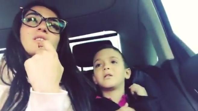 Сын Алены Водонаевой подарил девочке трусы, видео