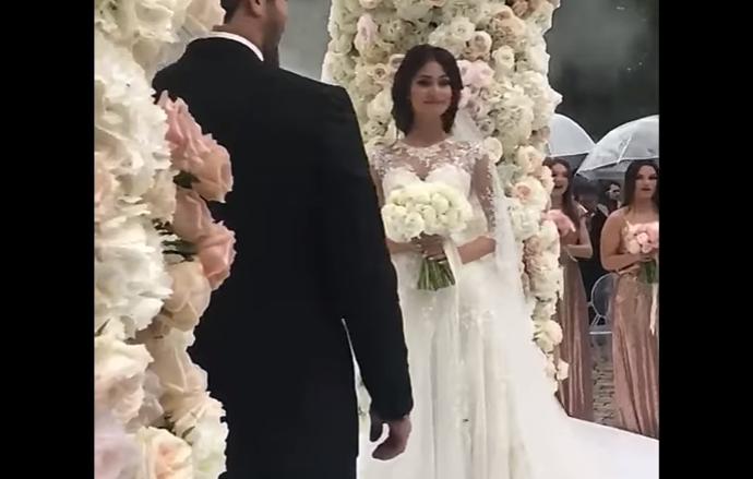 Свадьба Александра Овечкина и Анастасии Шубской, видео