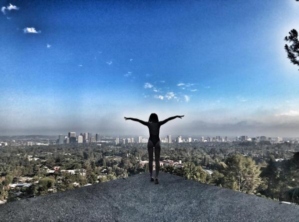 Ольга Бузова снимает клип в Лос-Анджелесе, фото