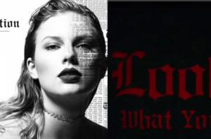 Тейлор Свифт фото и заставка новой песни Look What You Made Me Do