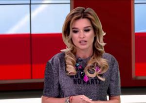 Ксения Бородина 2017 в студии телеканала Ру-ТВ