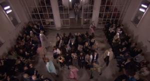Фото показа коллекции Burberry на Неделе моды в Лондоне
