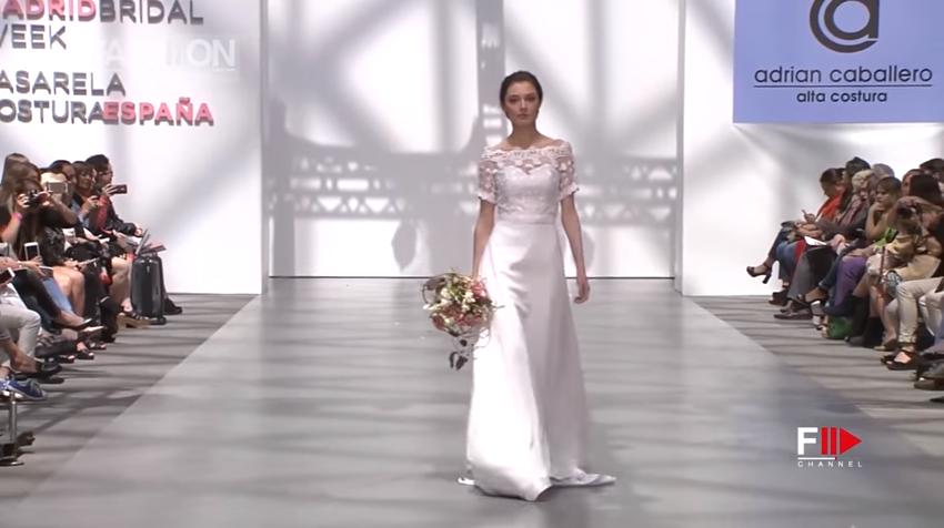 Неделя свадебной моды в Мадриде, видео показов коллекций 2018 года