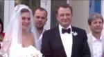 На фото Марат Башаров и Елизавета Шевыркова в день свадьбы 2017 год