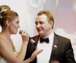 Фото Марата Башарова и Елизаветы Шевырковой в день свадьбы в сентябре 2017