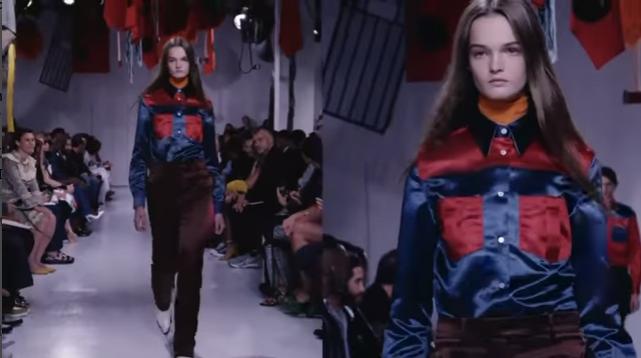 Показ коллекции Calvin Klein в Нью-Йорке в сентябре 2017, видео