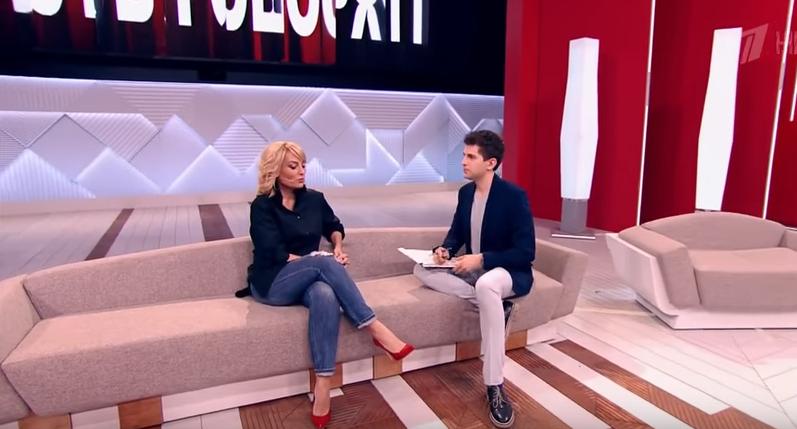 Евгения Ахременко в «Пусть говорят»: Константин Соловьев бросил детей, видео