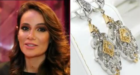 Айза Анохина (Долматова) рекламирует ювелирную коллекцию, видео
