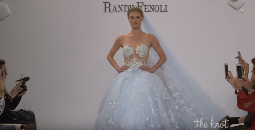 Bridal-fashion-2018-blue-dress