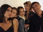 Дуа Липа фото с семьёй октябрь 2017, Инстаграм @dualipa