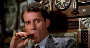 """Джеймс Вудс """"Однажды в Америке"""": кадр из фильма, роль Макса Берковича (секретаря Бейли)"""