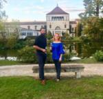 Марина Анисина и Роман Дюкасс, фото из Инстаграма Анисиной