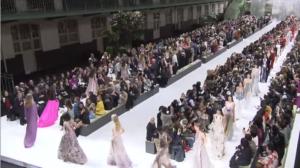 Фото показа коллекции Valentino весна-лето 2018, Неделя моды в Париже сентябрь-октябрь 2017