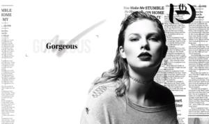 Тейлор Свифт Gorgeous: кадр из клипа, 2017 год